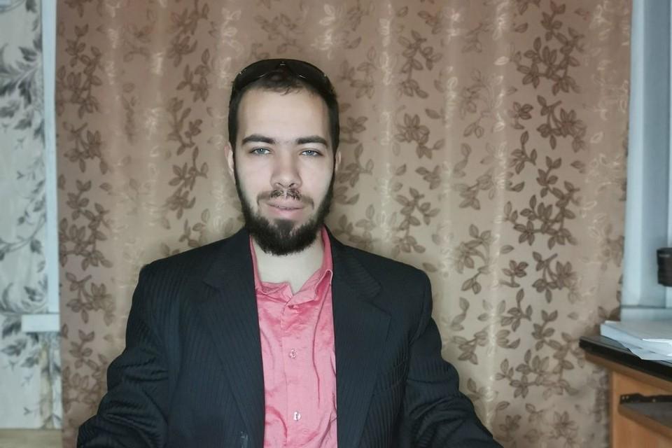 Сергей - обычный грузчик из Новосибирска. Фото: личный архив.