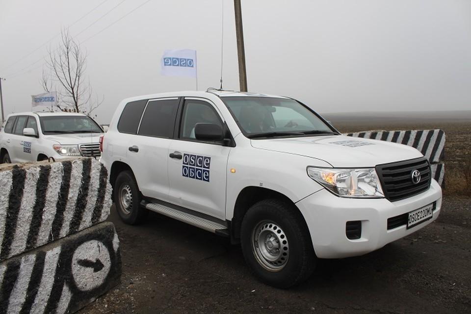 Взять контроль над границей Донбасса с Россией Киев планирует при помощи ОБСЕ