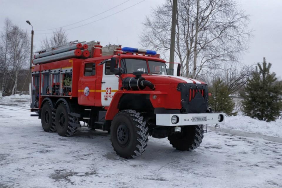 Пожарные в Амурске получили новую технику для работы