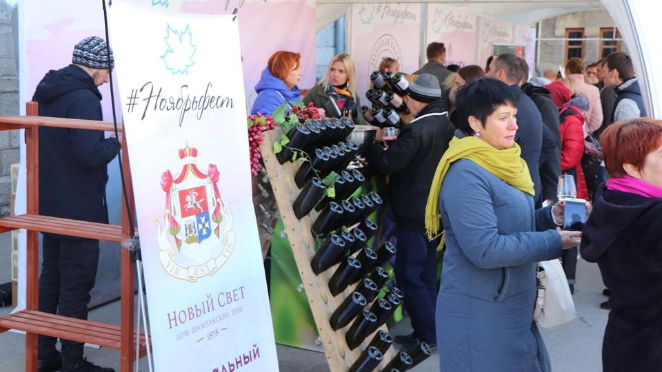 Крымский фествиаль стал лучшим гастрономическим проектом страны. Фото: пресс-служба Минкурортов