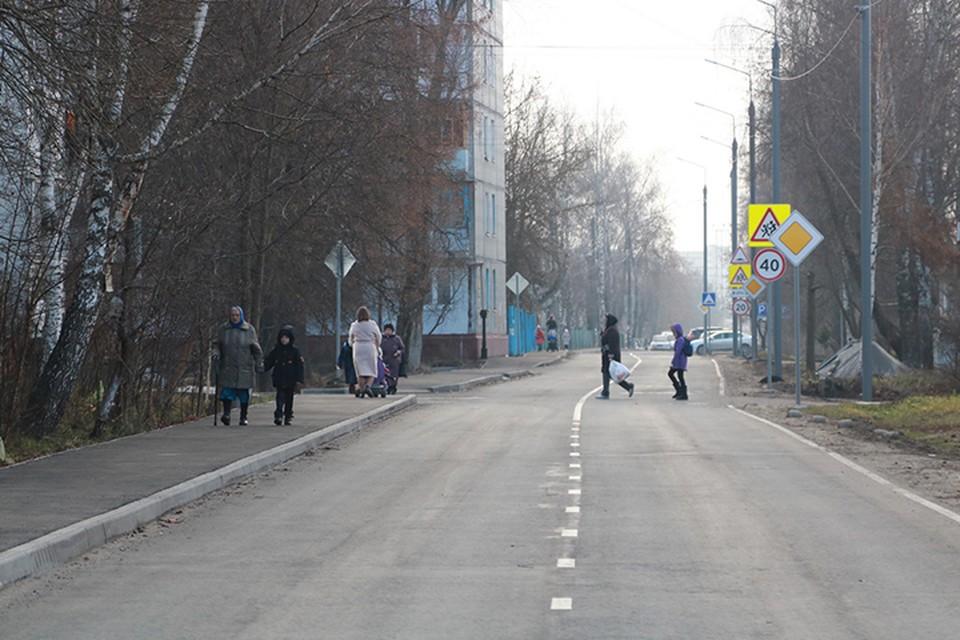 Улицу Первомайскую ремонтировали в рамках нацпроекта.
