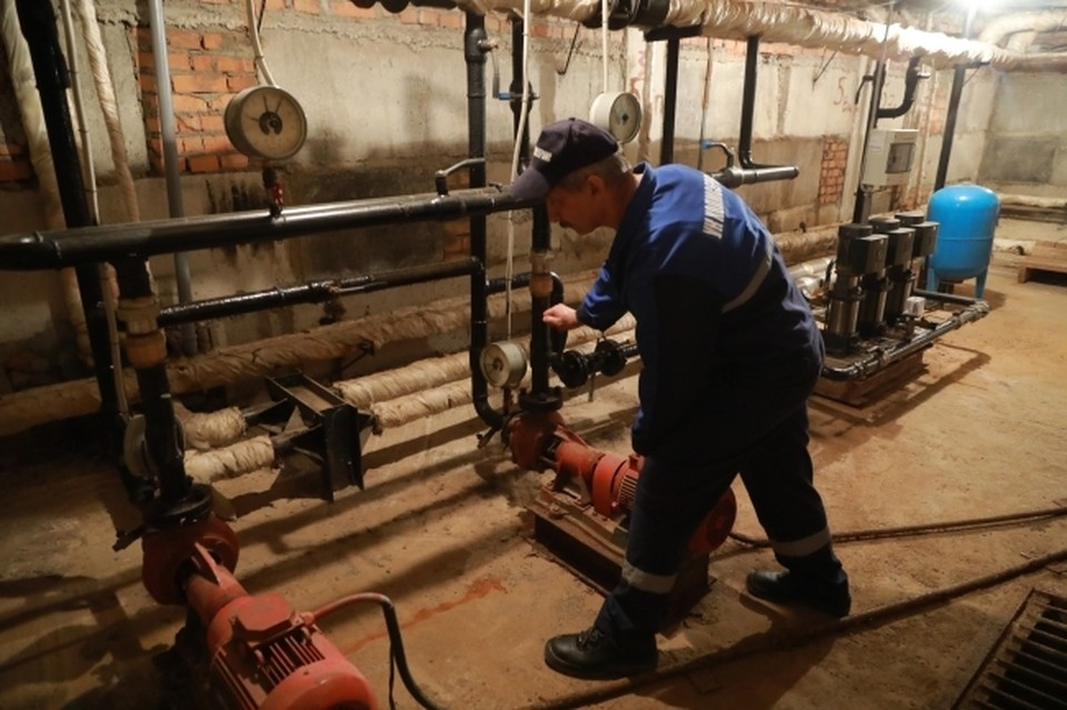 В Комсомольске затопило подвалы многоквартирников