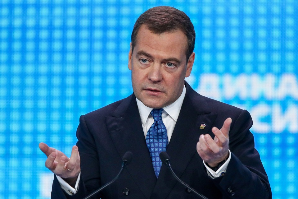 Премьер-министр РФ Дмитрий Медведев уверен, что компенсации, которые выплачивают обманутым дольщикам и другим пострадавшим гражданам, нужно освободить от обложения налогом на доходы физических лиц (НДФЛ). Фото: Сергей Бобылев/ТАСС