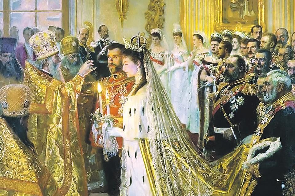 Николай II и Алиса, ставшая после крещения Александрой Федоровной, поженились через неделю после похорон Александра III. Фото: wikipedia.org