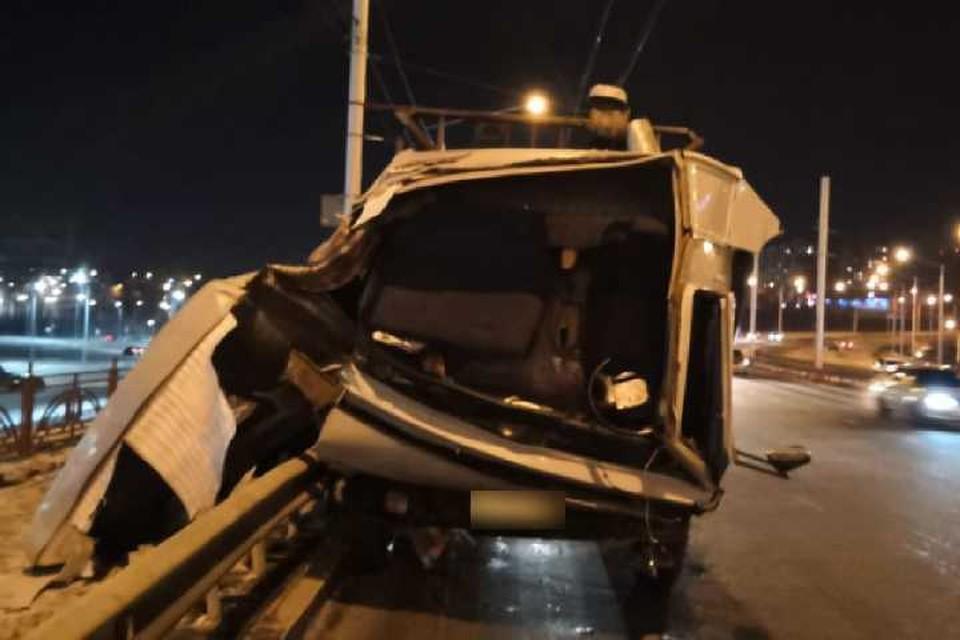 Полицейские начали проверку после смертельного ДТП на Академическом мосту в Иркутске