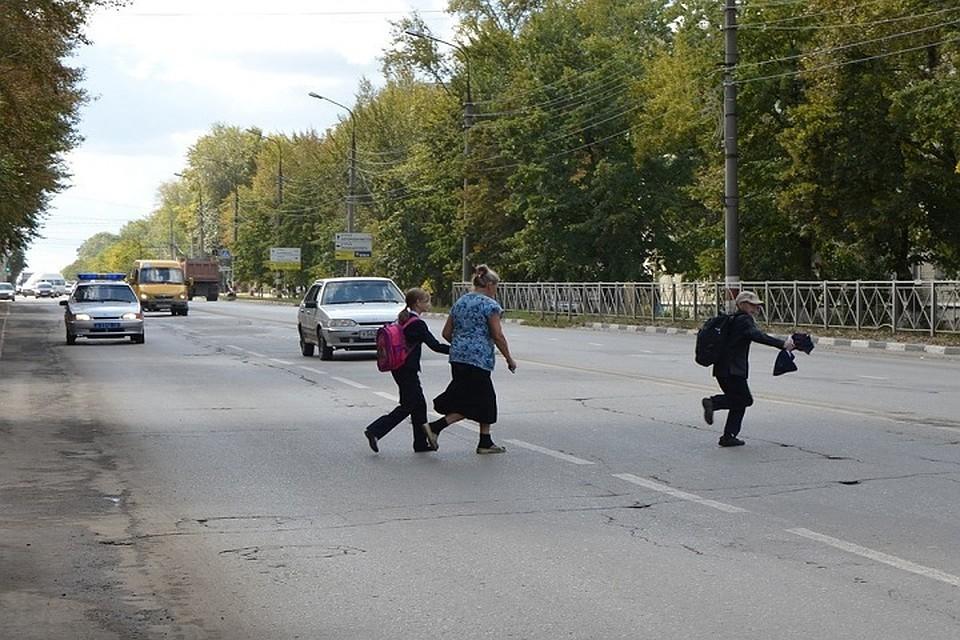 С начала года по вине пешеходов произошло 300 аварий