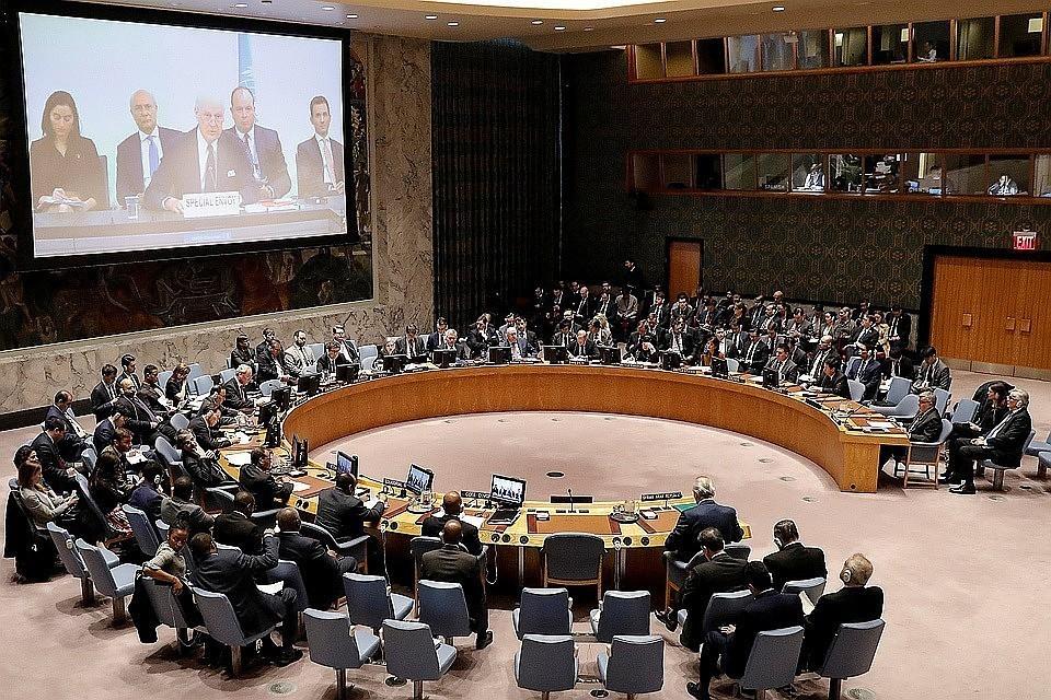 Выступление сорвали представители украинской делегации