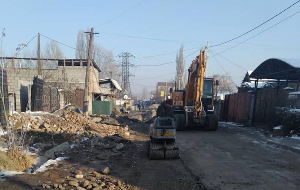 Основные работы на Саадаева уже завершены.