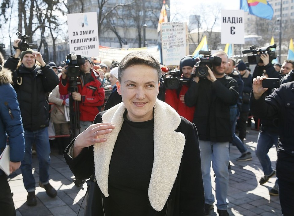 Надежда Савченко рассказала всю правду о Петре Порошенко