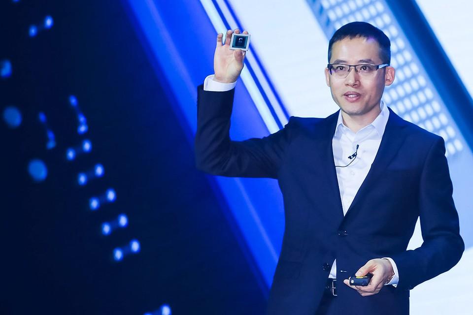 Презентация чипа с технологией искусственного интеллекта китайской корпорации Алибаба, осень 2019 г.