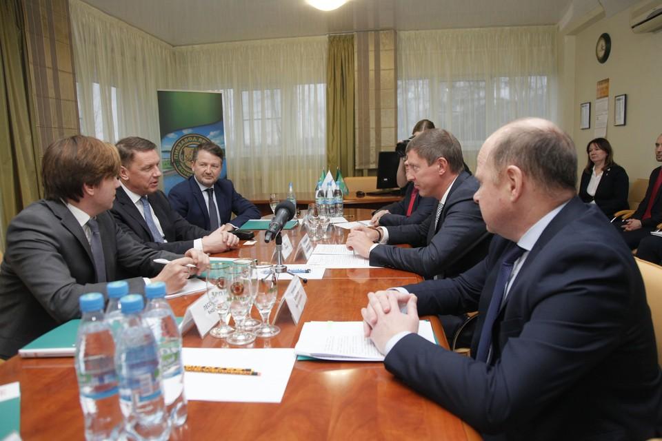 Председатель Правительства Дмитрий Степаненко провел переговоры с президентом компании «Балтика» Ларсом Леманном