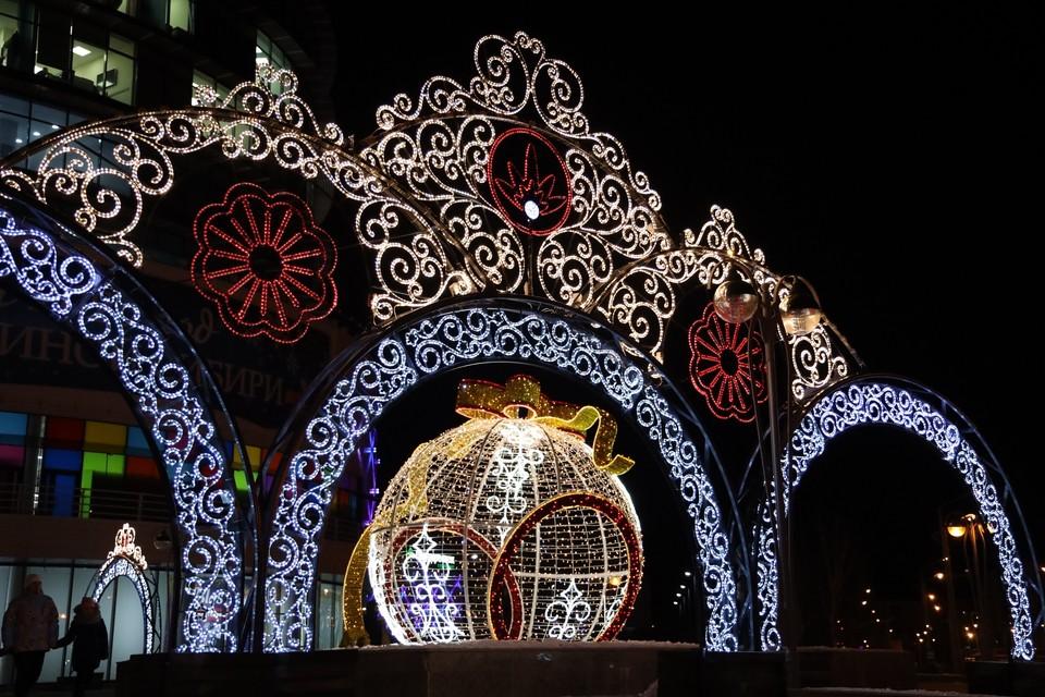 Тобольск засияет к Новому году. Фото - оргкомитет празднования.