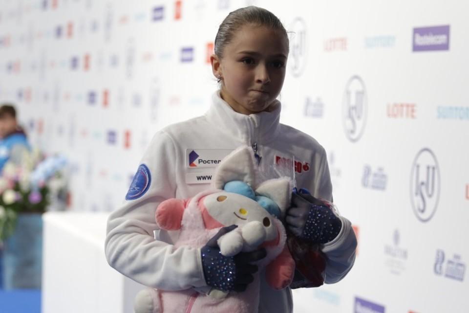 Камила Валиева в 13 лет выиграла юниорскую серию Гран-При.