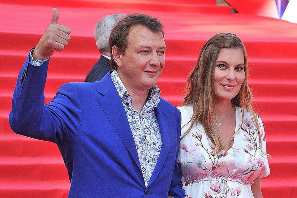 Марата Башарова с экс-женой Лизой.