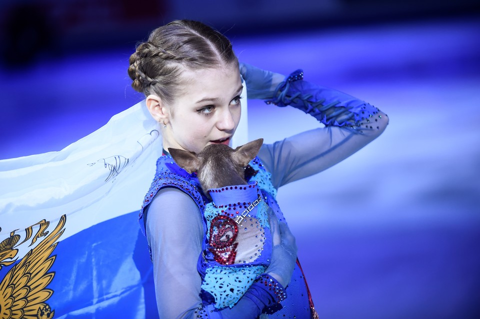 Александра Трусова - бронзовый призер финала Гран-При сезона.