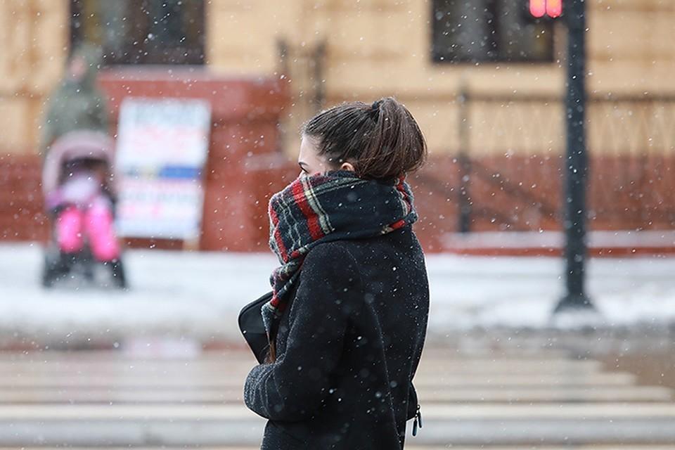 Снежная рабочая неделя пришла в Красноярск