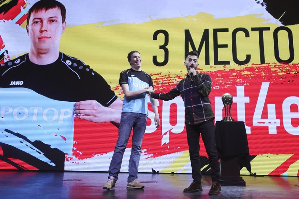 Волгоградец - бронзовый чемпион России. Фото с сайта РФС.