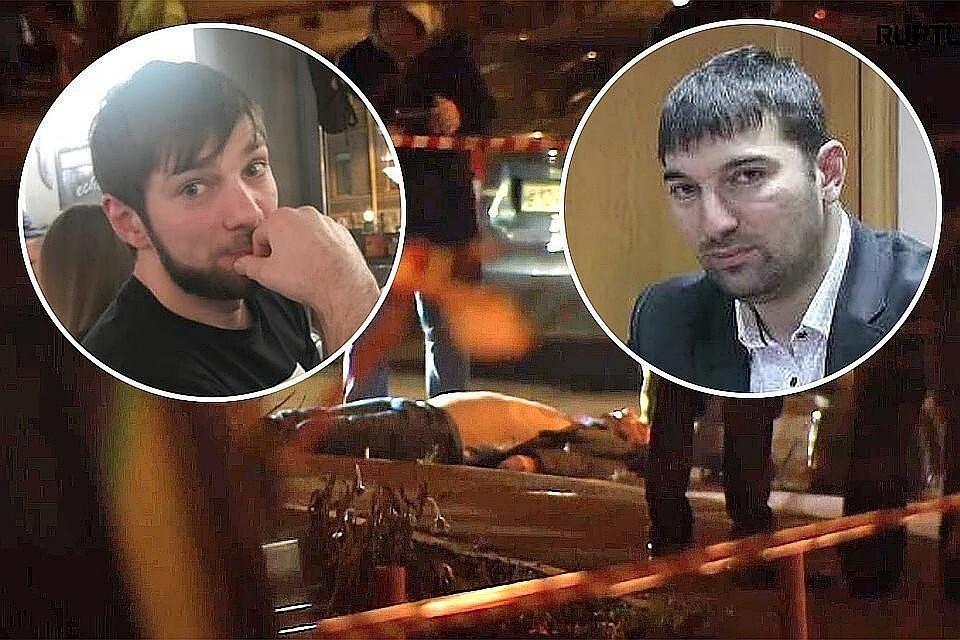 2 ноября наёмный киллер расстрелял главу ЦПЭ Ингушетии Ибрагима Эльджаркиева (справа) и его брата