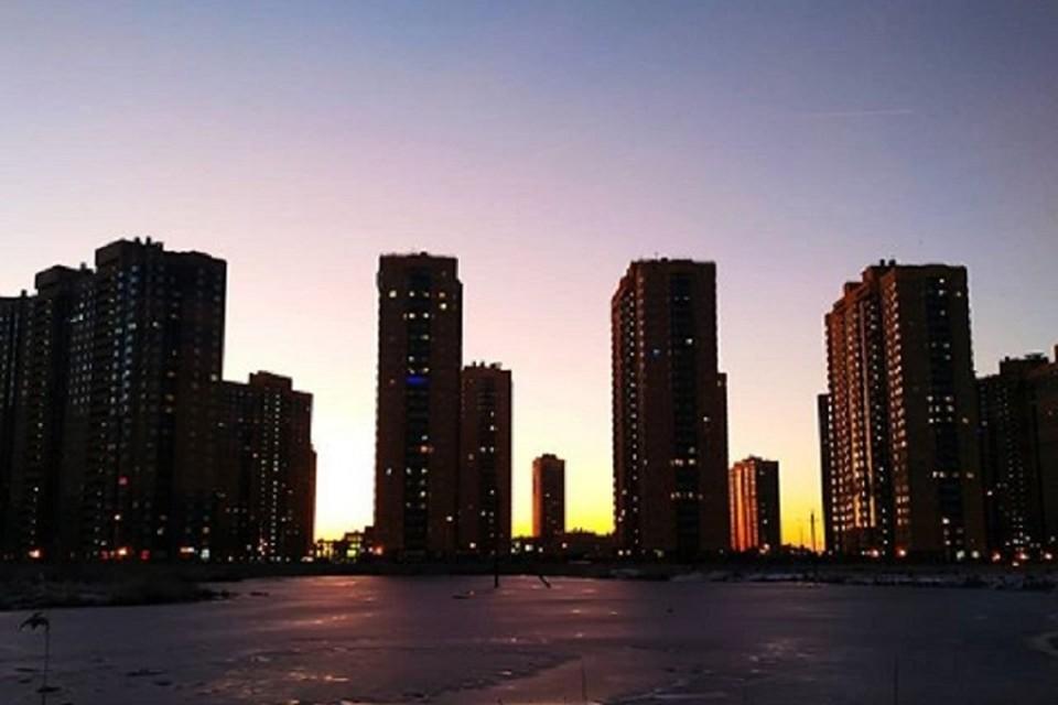 "Над Петербургом взошло ""ложное солнце"" / Фото: @iuliakot88"