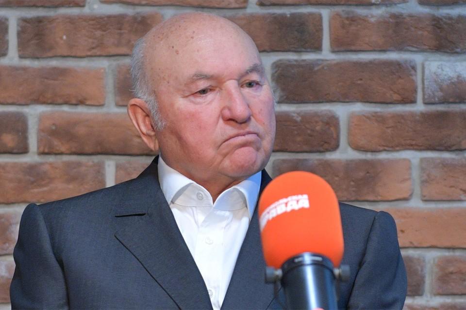 """Юрий Лужков на Радио """"Комсомольская правда""""."""