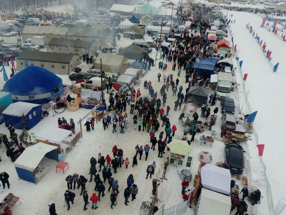 Развлечений зимой в Саратовской области хоть отбавляй