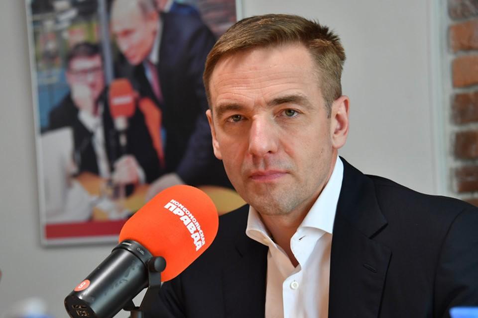 Статс-секретарь, заместитель министра промышленности и торговли Виктор Евтухов в гостях у Радио «Комсомольская правда».