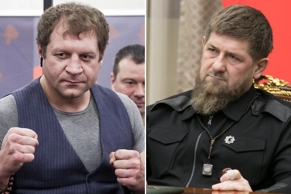 Емельяненко принял вызов Кадырова. Фото: Валерий Шарифулин/ТАСС / личная страница Рамзана Кадырова