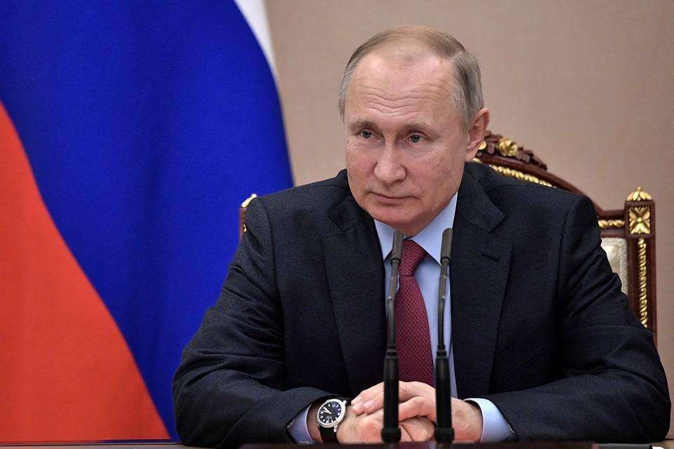 Владимир Путин подписал ряд важных законов