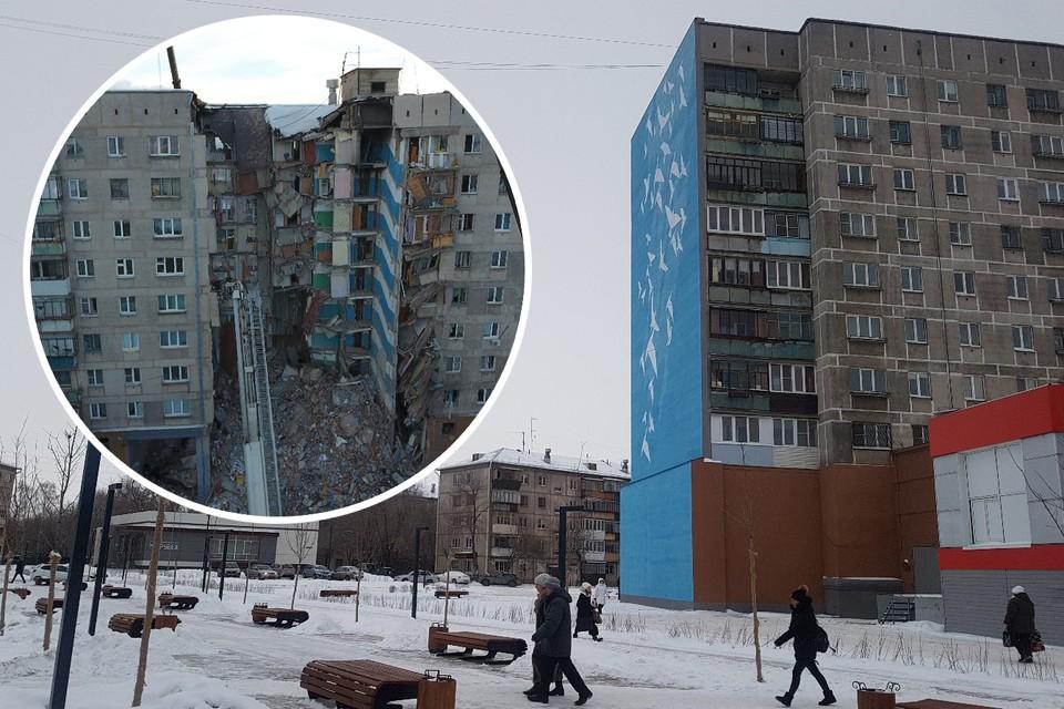 На месте разрушенных подъездов сейчас сквер. Фото: Артем Ибрагимов