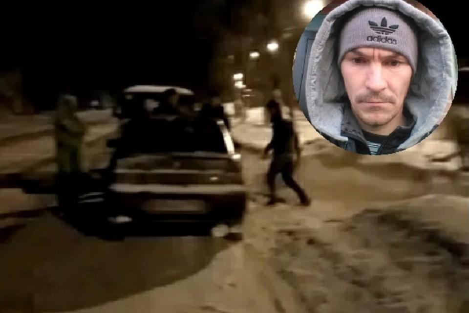 Сергея застрелили, когда он пошел на полицейских с монтировкой. Фото: скриншот видео