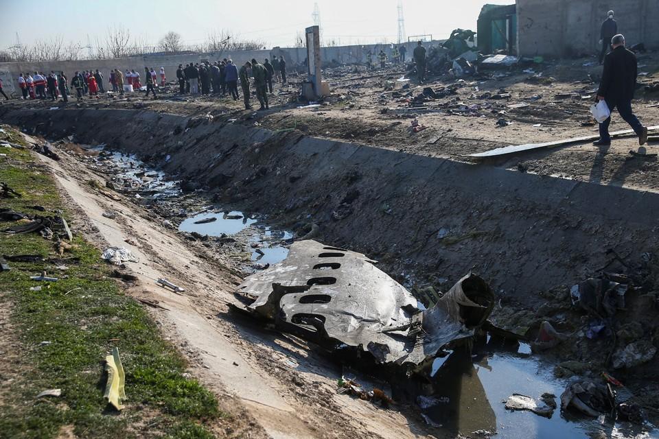 На фюзеляже украинского Боинга нашли «следы шрапнели»