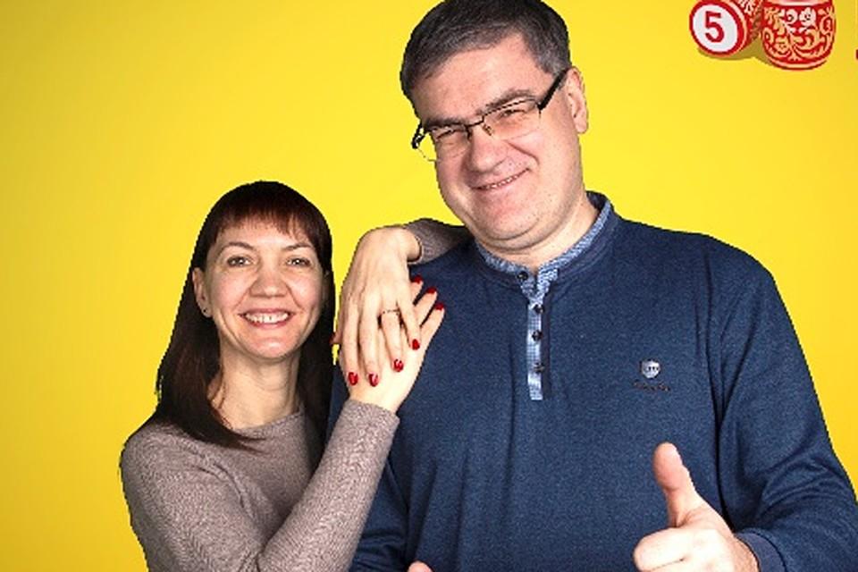 Марина Белянцева с мужем Евгением пока не решили, на что потратят деньги.