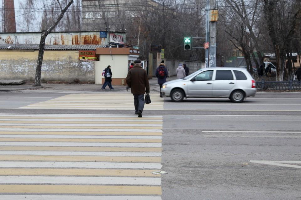 Пешеходам лучше не расслабляться.