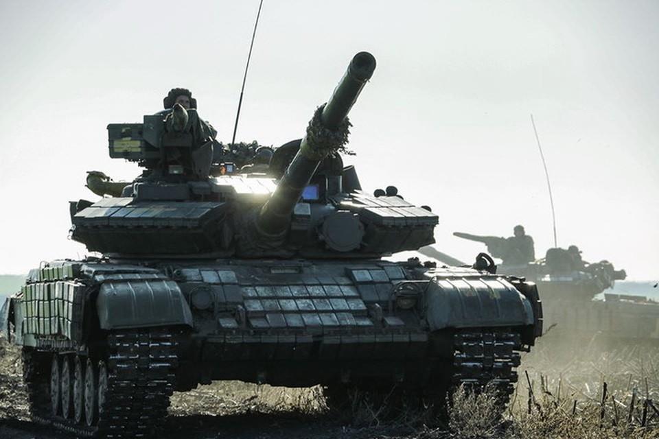 Военный сбор на танки и пушки для ВСУ платили даже крупные предприятия, работающие на территории ДНР и ЛНР, пока республики не ввели на них внешнее управление. Фото: Пресс-центр штаба ООС