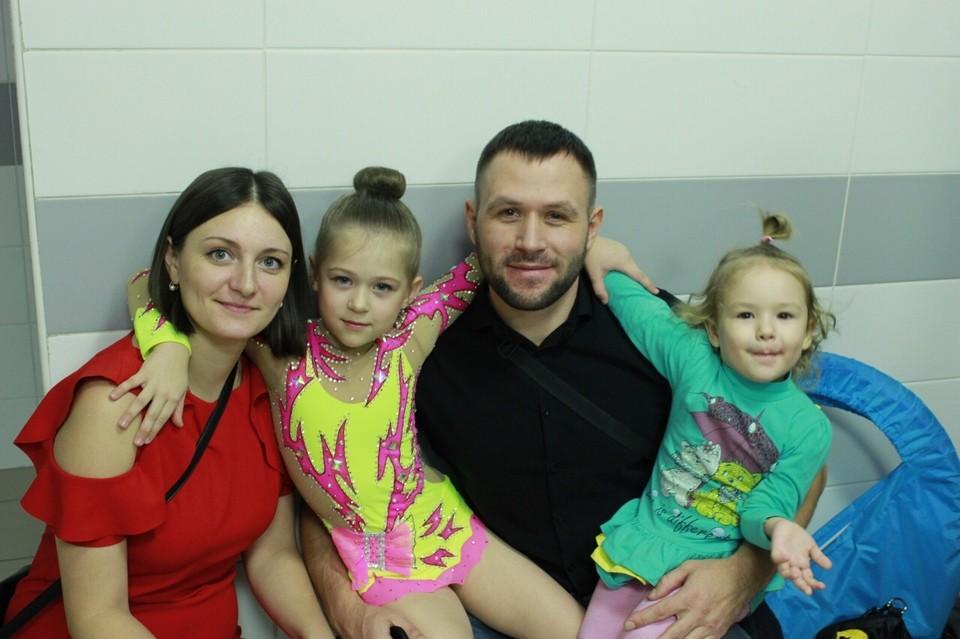 Вадим вместе со своей семьей. Фото: соцсети.