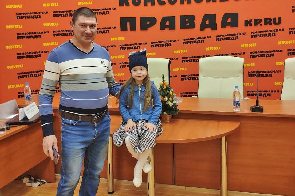 История маленькой модели-солнышка Ксюши Каштановой.