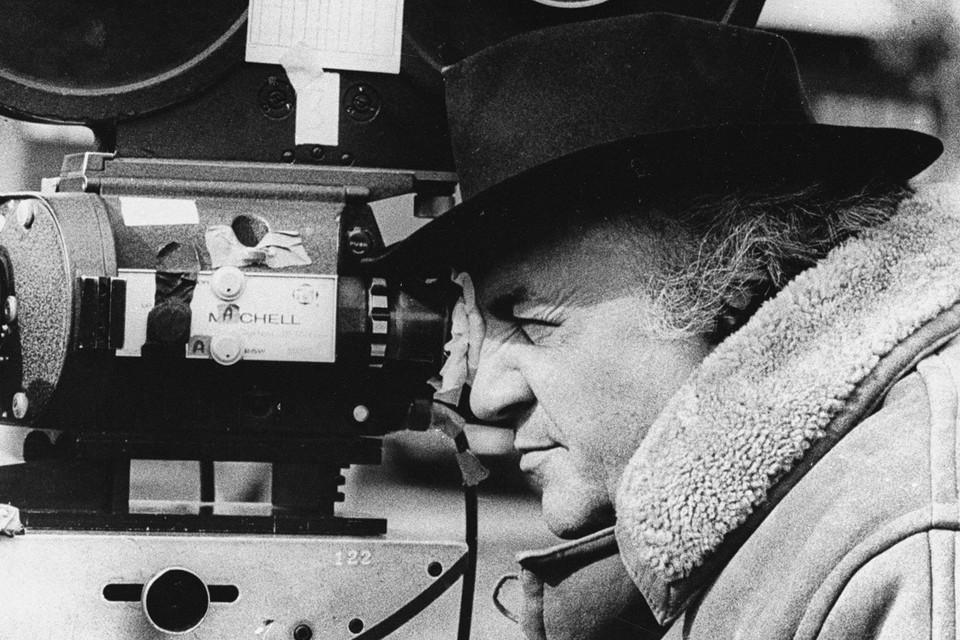Кинорежиссер Федерико Феллини.