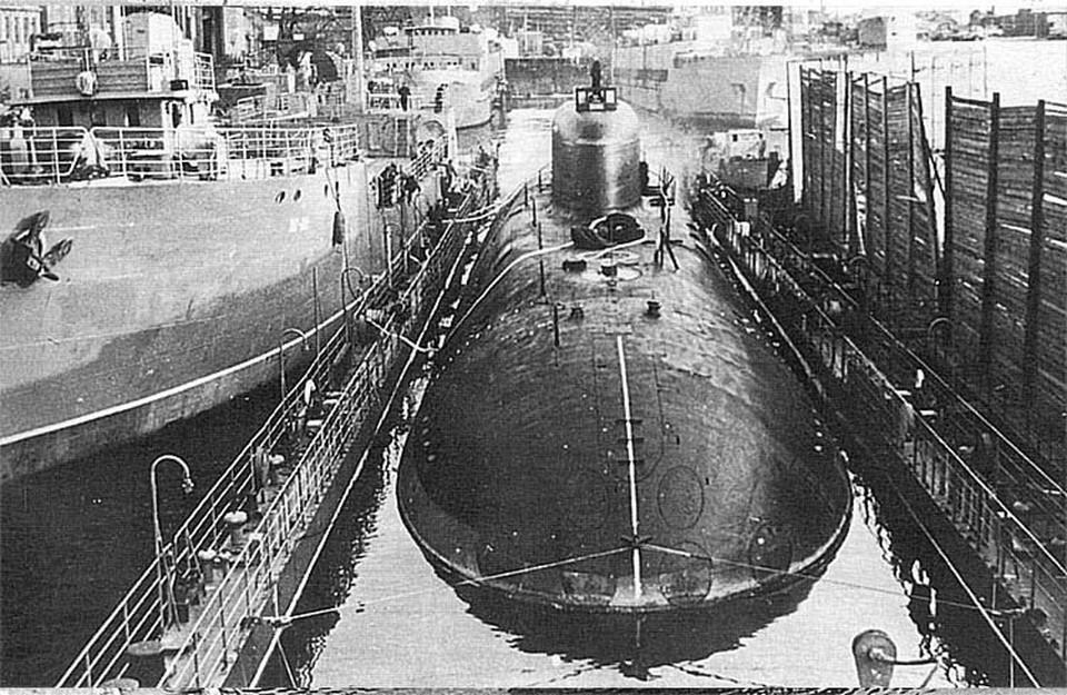 Ровно пятьдесят лет прошло с момента засекреченного ядерного взрыва на подводной лодке К-320