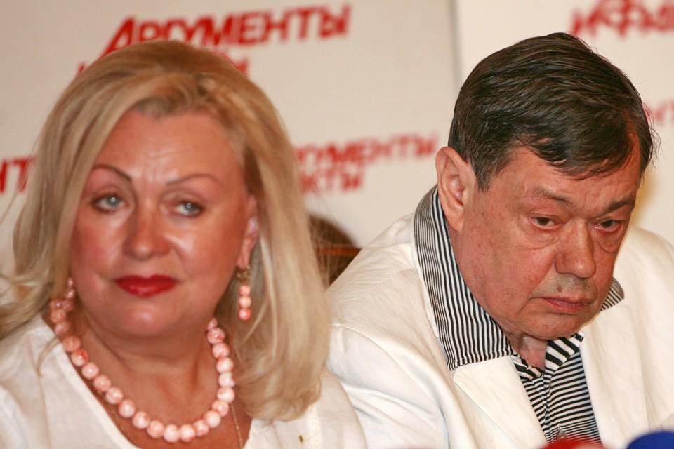 Николай Караченцов и Людмила Поргина прожили вместе 43 года.