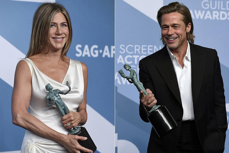Бывшие супруги встретились на церемонии вручения наград Гильдии киноактеров США.