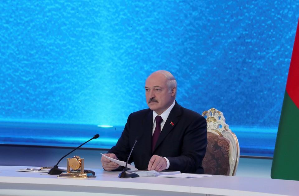 Александр Лукашенко - президент Белоруссии