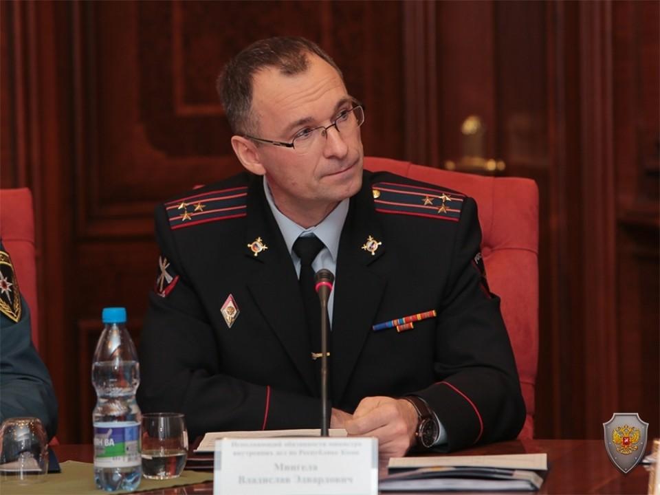 МВД Коми будет временно руководить Владислав Мингела