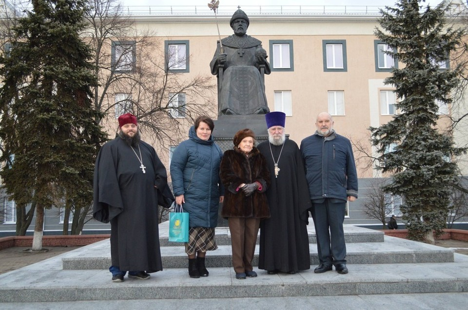 Новый Оскол посетила родственница последнего русского императора. Фото пресс-службы администрации Новооскольского городского округа