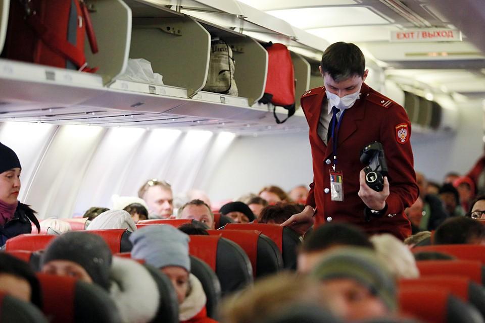 К рейсам из Китая особое внимание