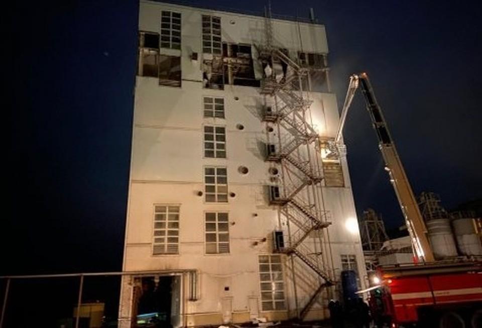 В белгородской больнице умер мужчина, пострадавший при взрыве на комбикормовом заводе. Фото регионального СК.