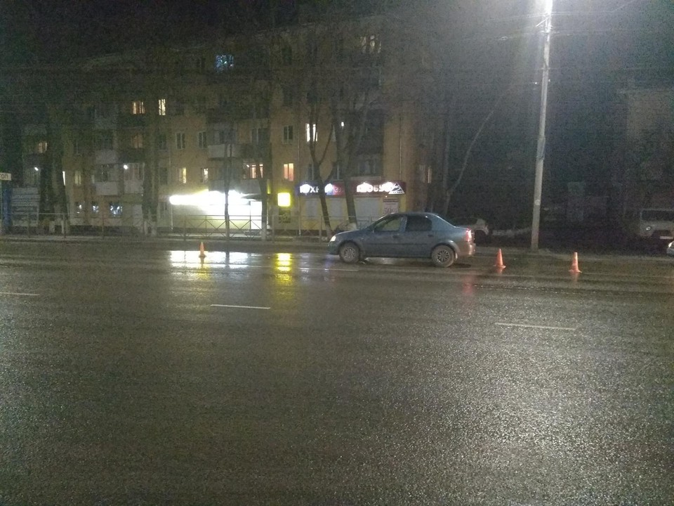 В Орле пенсионер нарушил ПДД и попал под машину. Фото: УГИБДД УМВД России по Орловской области.