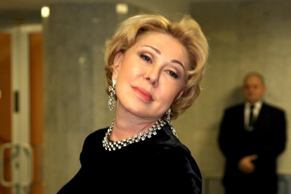 Любовь Успенская не боится экспериментировать со своей внешностью.