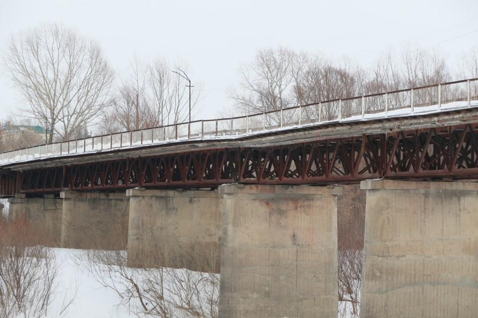 Старый аварийный мост