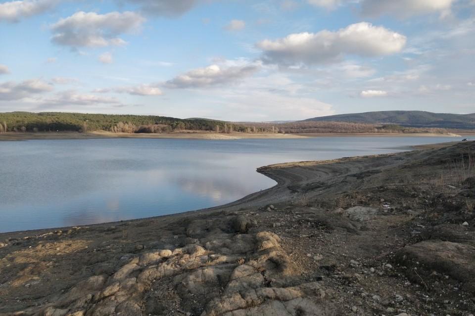 У Симферопольского водохранилища очень низкая наполняемость.