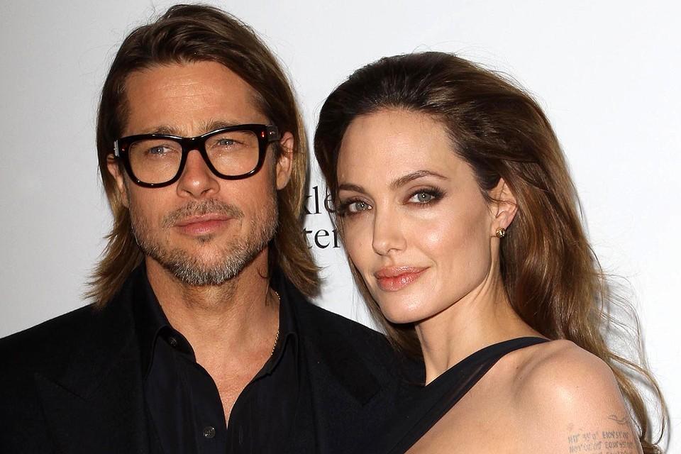 Анджелина Джоли и Брэд Питт в 2011 году.